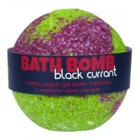 Шарик для ванн BLACK CURRANT (с маслами и экстрактом черной смородины) Savonry