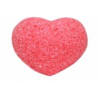 Бурлящее сердечко для ванн розовое (с маслами) Savonry