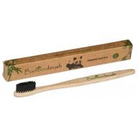 Зубная щетка из бамбука с угольным напылением Bamboobrash